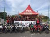 Track Day Honda CBR Community di Pekanbaru