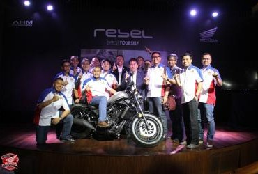 Launching Honda CMX500 Rebel