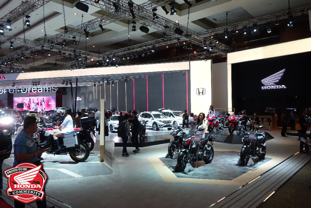 Indonesia International Motor Show 2017 - Booth Honda