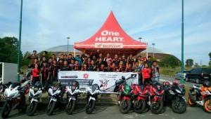 Capella Honda Riau Gelar Track Day Honda CBR 150 dan CBR 250RR