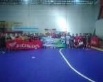 Eratkan Silahturahmi Komunitas Motor melaui Ketupat Futsal Community