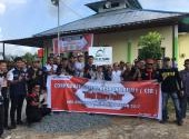 CSR di Honda Bikers Day (HBD) 2017 region Kalimantan