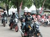 Honda Bikers Day (HBD) 2017 region Sulawesi (Bag-1)