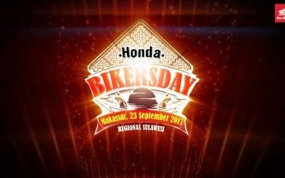 Honda Bikers Day (HBD) 2017 regional Sulawesi