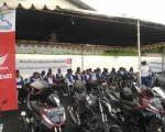 Perkuat Kampanye Cari_Aman, Honda Bekali Front Line