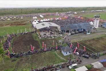 Crowd Honda Bikers Day (HBD) 2017
