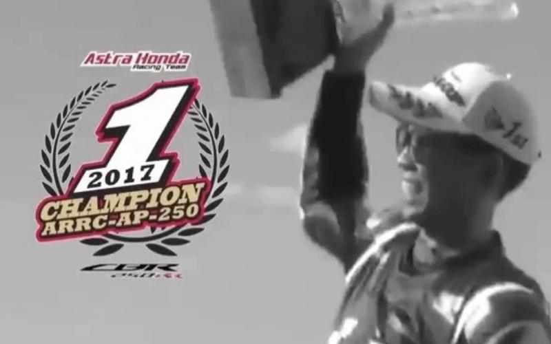 Rekam jejak perjalanan Gerry Salim, Honda CBR250RR dan Astra Honda Racing Team