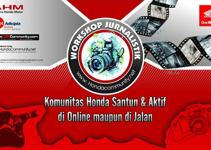 PT. DAM Bakal Gelar Workshop Jurnalistik untuk Bikers Honda di Jawa Barat