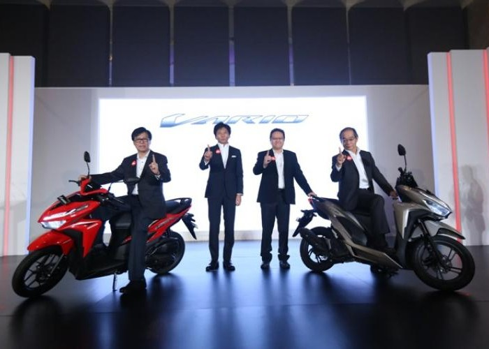 AHM Luncurkan All New Honda Vario 150 dan All New Honda Vario 125