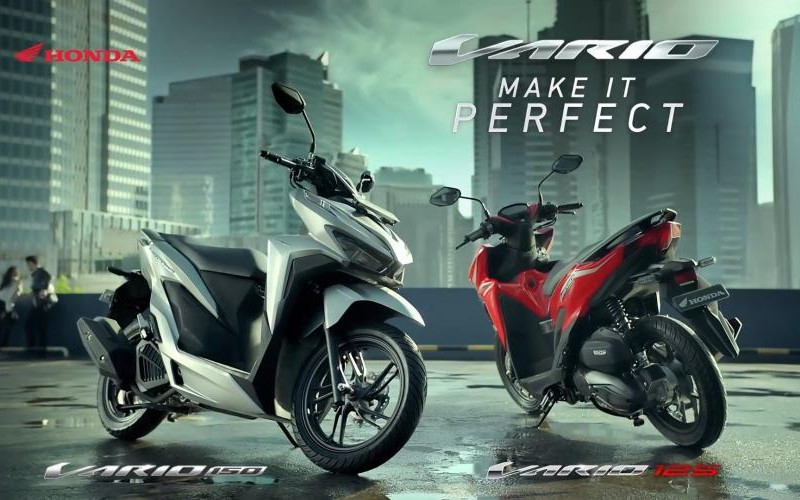Video Product New Honda Vario 2018