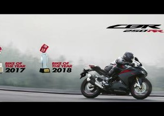 Honda CBR250RR Bike of The Year 2018