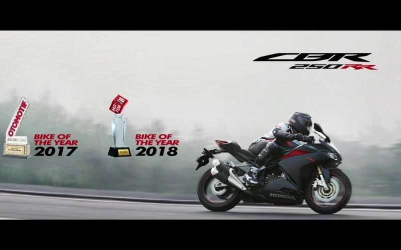 Honda CBR250RR Bike of The Year 2018
