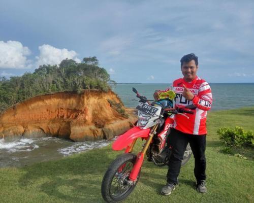 Profil Prannovsky Oktaryan, PIC Community Honda Bengkulu