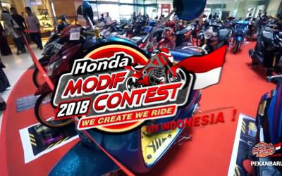 Honda Modif Contest 2018 - Pekanbaru