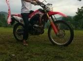 Test ride crf 125