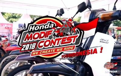 Honda MODIF CONTEST 2018 DENPASAR