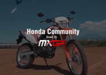Komunitas Honda Meet & Greet Rider MXGP HRC di Semarang