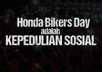 Honda Bikers Day adalah Kepedulian Sosial