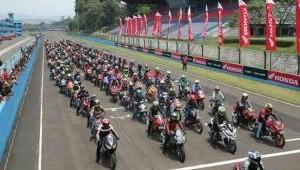 Hadir Ramaikan CBR Race Day 2018, HSOI Jakarta Ikuti Ragam Kegiatannya.