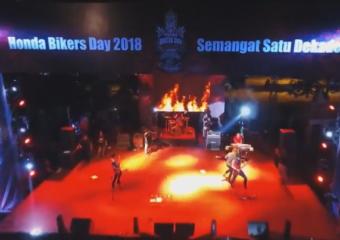 Honda Bikers Day 2018 regional Kalimantan-Samarinda