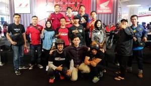 Para Biker AHJ Ikut Meramaikan Event Honda Sport Motoshow 2018.