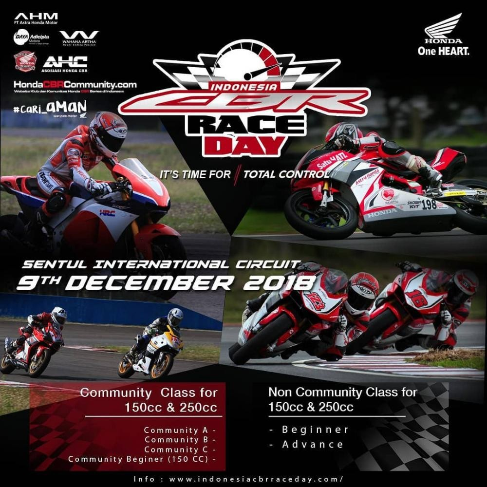 CBR Race Day Seri 3