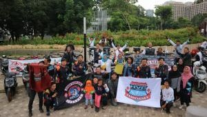 Honda Vario Club Indonesia Partisipasi Dalam Puncak Millenial Road Safety Festival