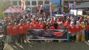 Ratusan Bikers PCX Ramaikan Event PCX Luxurious Ride
