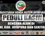 PHMJ Salurkan Bantuan Dari Masyarakat Jayapura.