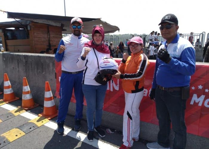 Test Ride Honda PCX di Millenial Road Safety Festival Surabaya