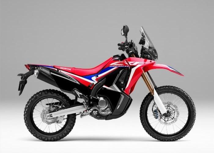 Motor Adventure Tourer Honda CRF250RALLY Hadir Dengan Warna Baru