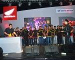 Deklarasi Bikers GTR Kendari Club (BGKC) & Honda Sonic 150 Owner Indonesia Kendari (HSOI)