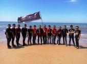 CCI Samarinda support Touring Wsata Bahari Pantai Lamaru Balikpapan Bersama IMHS