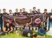 Perayaan HUT Pertama CBR Riders Club Wonogiri Kenalkam Objek Wisata