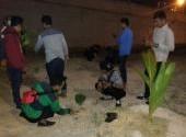 Komunitas motor Honda Banjarmasin peduli lingkungan  penanaman pohon