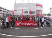 Pelatihan Safety Riding Bersama Komunitas Vixion-Byson-Satria F150