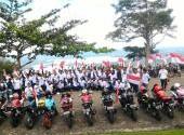Honda Konvoi Merdeka di Jayapura dan Pekanbaru