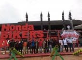 Honda Bikers Day (HBD) 2017 region Kalimatan