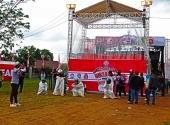 Perlombaan di Honda Bikers Day (HBD) 2017 region Kalimantan