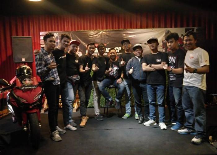 Keseruan HCT Nobar MotoGP Arogan Bersama  Wahana & Komunitas CBR Lainnya.