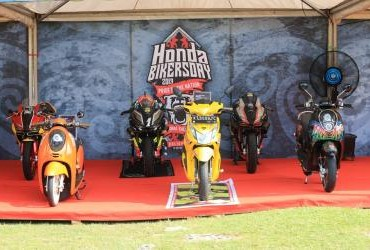 Honda Bikers Day (HBD) 2019 Regional Kalimantan - Motor Modifikasi