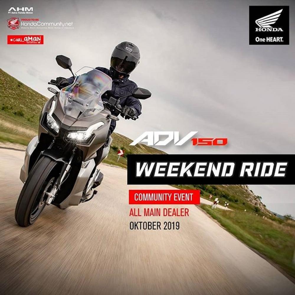 Weekend Ride
