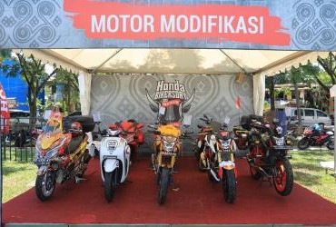 Honda Bikers Day (HBD) 2019 Regional Sulawesi - Motor Modifikasi