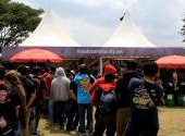 Honda Bikers Day (2019) Nasional - Booth Teramai Dikunjungi Bikers