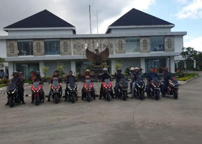 HAI Chapter Jayapura Touring Perdana Perbatasan Papua RI - Papua New Guinea