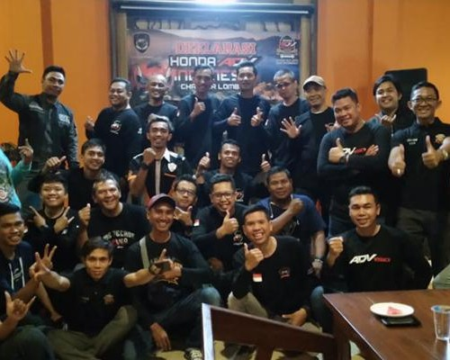 Honda ADV150 Indonesia Chapter Lombok Resmi Deklrasi