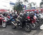 Bikers Adventure Camp & Workshop Jurnalistik : Komunitas AHJ & AHMT Gruduk Wahana Pasar Minggu.