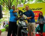 Riding asik bareng MPM, konsumen honda dari sidoarjo raih hadiah utama Honda Genio