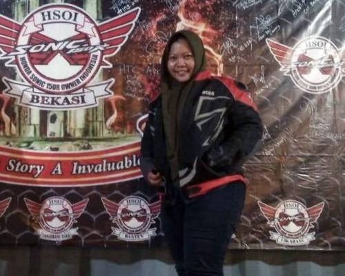 Lady Bikers Amroh, Bangga Perkenalkan Komunitas Di Kampung Halaman