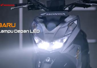 BARU! #HondaBeAT, Lebih Stylish Dengan Lampu Depan LED